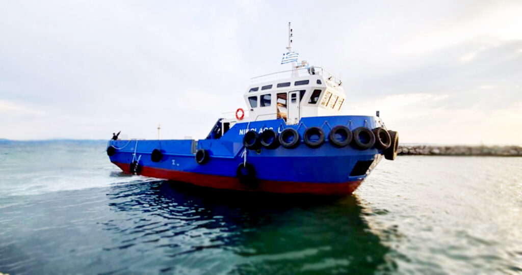 Boat Nikolos of Chios Transit Sea Services 2
